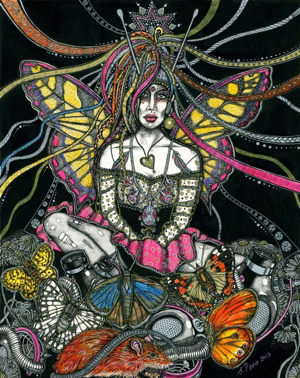 Butterfly Apocalypse #3 Sheelagh Peace Illustrator