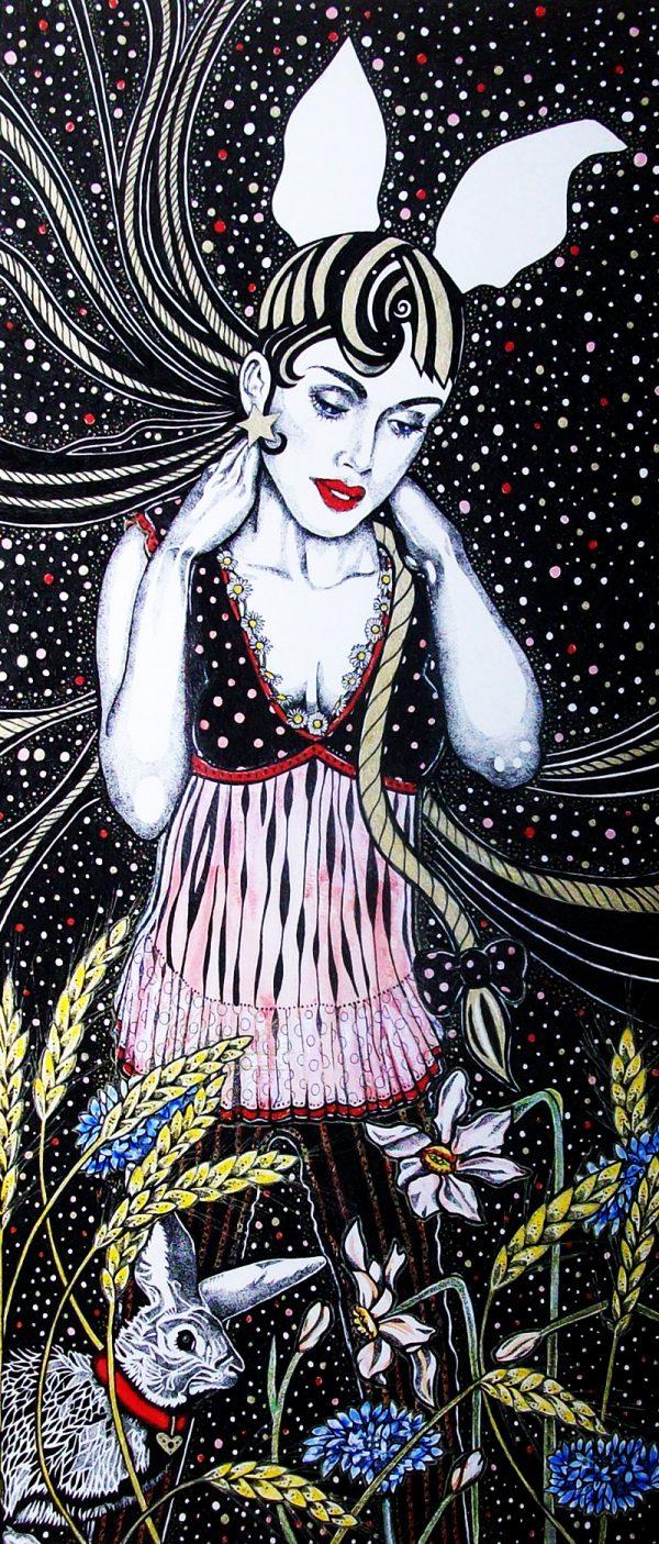 County Girl Titania Sheelagh Peace Illustrator