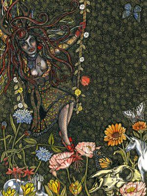 In the Springtime Titania Sheelagh Peace Illustrator