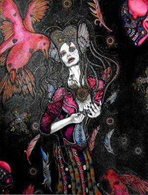 On the Edge of My Life Sheelagh Peace Illustrator
